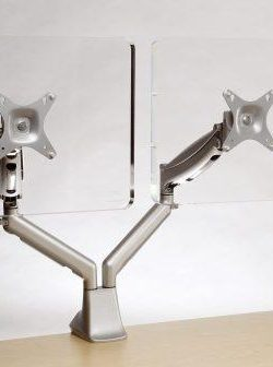 gas-monitor-arm-twin-silver
